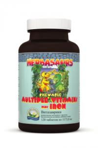 БАДЫ НСП «Витазаврики» витамины для детей,