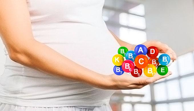 Витамины нужные беременным