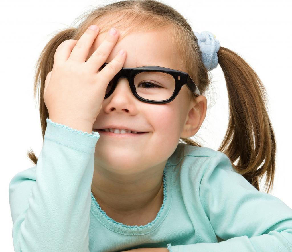 У ребенка падает зрение