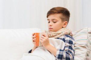Очень сильный кашель у ребен