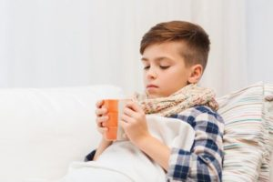 Частый сухой кашель у ребенка